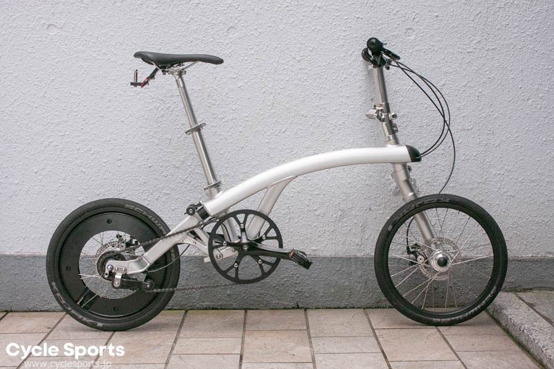 新流派の折りたたみ自転車「iruka(イルカ)」を知っているか?