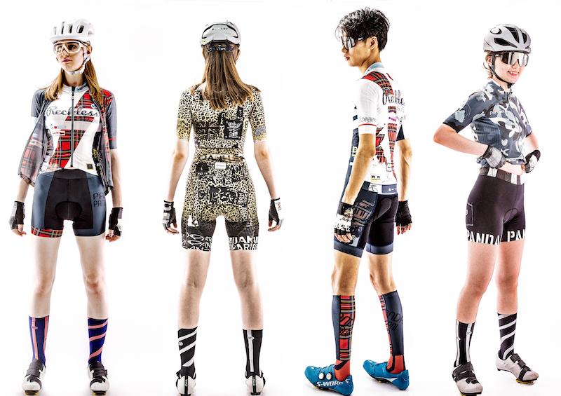 サイクルウエアのパンダーニが名古屋と大阪でポップアップショップをオープン