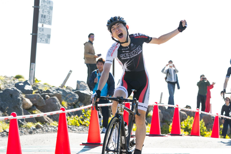 中村俊介が2連覇 「マウンテンサイクリングin乗鞍2019」が開催