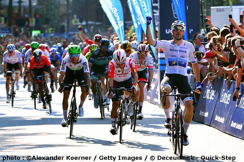 UCIワールドツアーのユーロアイズ・サイクラシックス・ハンブルクでヴィヴィアーニが3連覇
