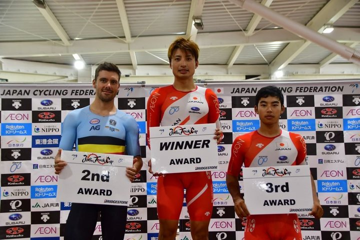 チームブリヂストンサイクリングの窪木、橋本とサポート選手・梶原の優勝コメント/2019JTC