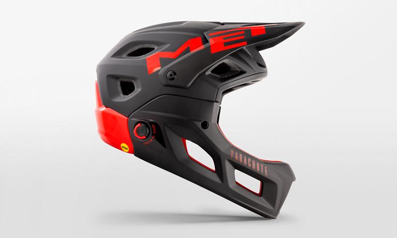 メットのコンバーチブルフルフェイスヘルメット「パラシュートMCR」