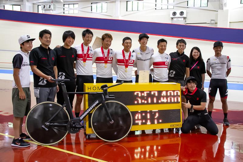 チームパシュート日本新記録、ブリヂストンが全日本トラックでつなぎとめた可能性