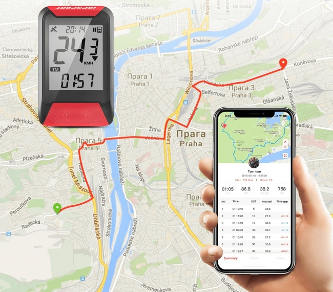 リットインターナショナルが「iGPSPORT」GPSサイクルコンピューター取扱開始