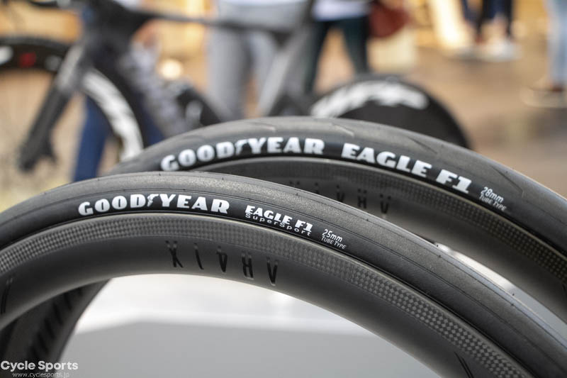 【ユーロバイク速報】イーグルF1 グッドイヤーのロードバイク用タイヤ