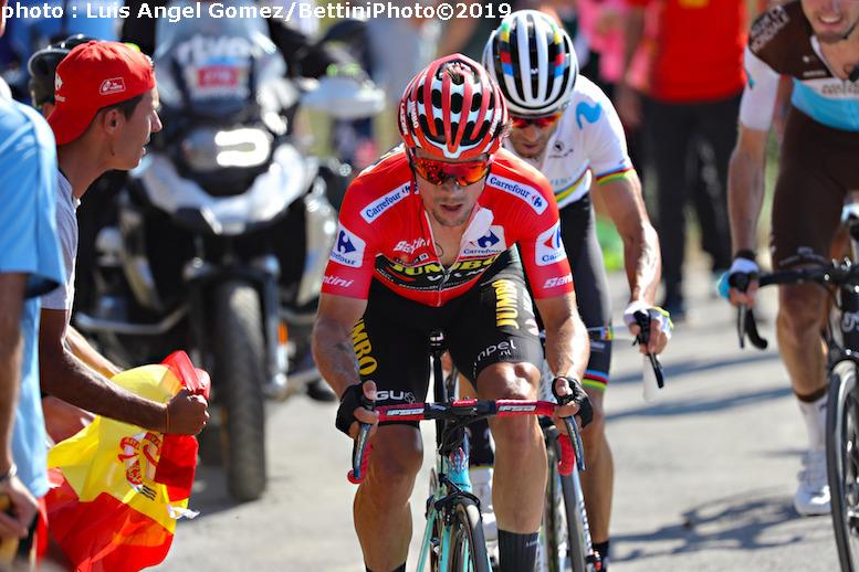 頂上ゴールのブエルタ・ア・エスパーニャ2019第15ステージでクースが区間初優勝