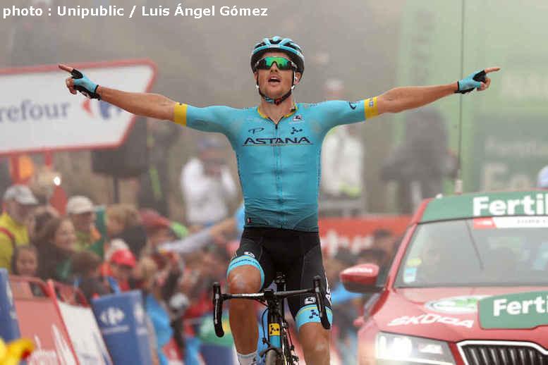 超級頂上ゴールのブエルタ・ア・エスパーニャ2019第16ステージでフルサングが区間初優勝