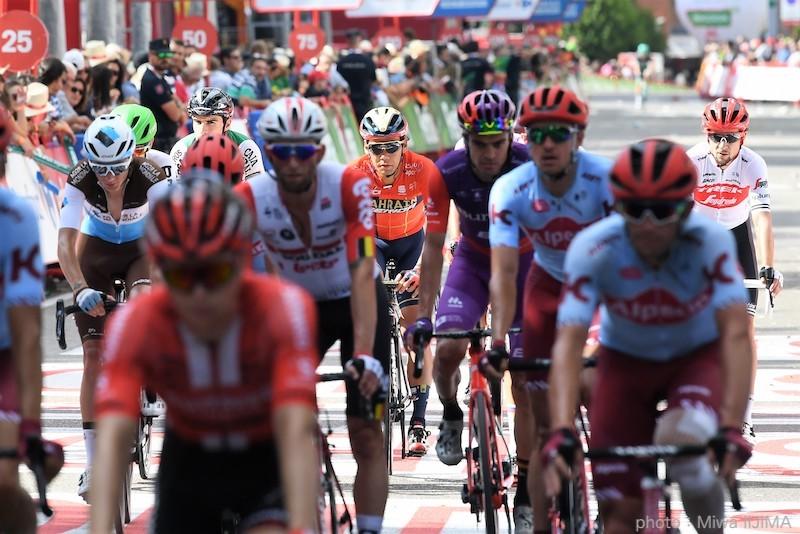 新城幸也のチームメイト、トゥーンスが区間4位 ブエルタ2019 第17ステージ