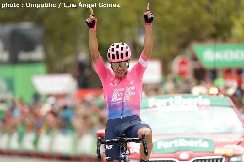 ブエルタ・ア・エスパーニャ2019第18ステージはイギタが逃げ切り区間初優勝
