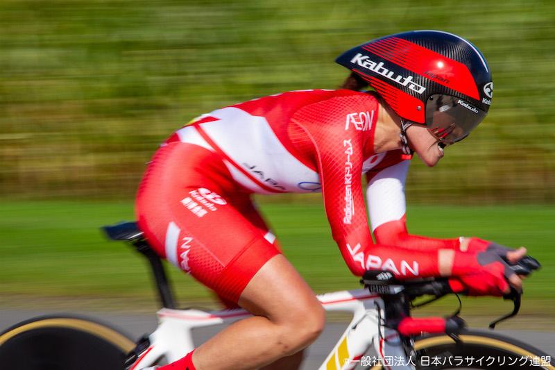 杉浦佳子が銀メダル獲得! 2019パラサイクリング ロード世界選・個人TT