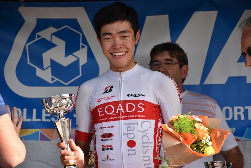 エカーズ・松田祥位、平井光介がフランスのレースで土日連続優勝