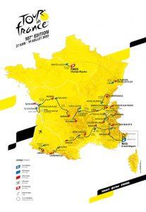 ツール・ド・フランス2020コース発表