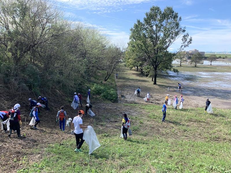 彩湖清掃ボランティア