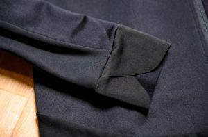 袖口のチューリップ形状