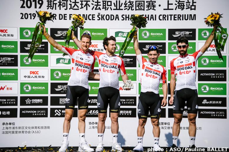 2019ツール・ド・フランス・シュコダ・上海クリテリウム