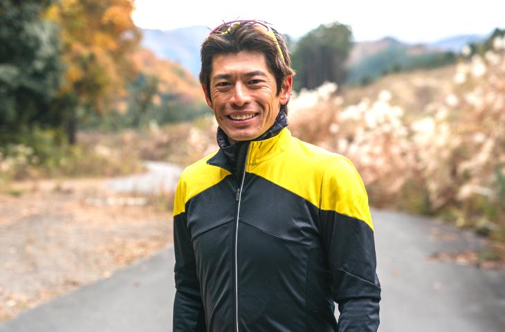 UCIコーチでプロサイクリストの小笠原 崇裕さん
