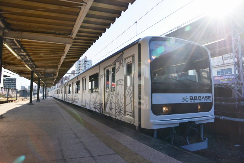BBBASE両国駅ホーム1