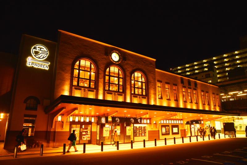両国駅夜景