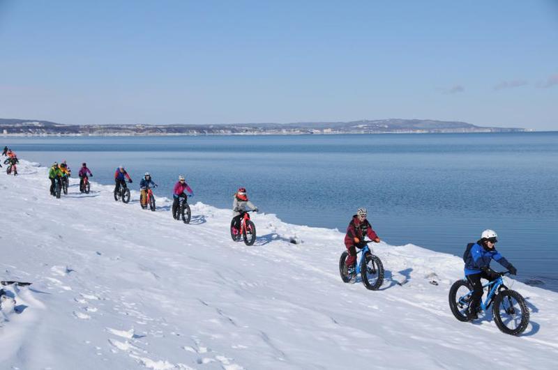 オホーツク流氷ライド