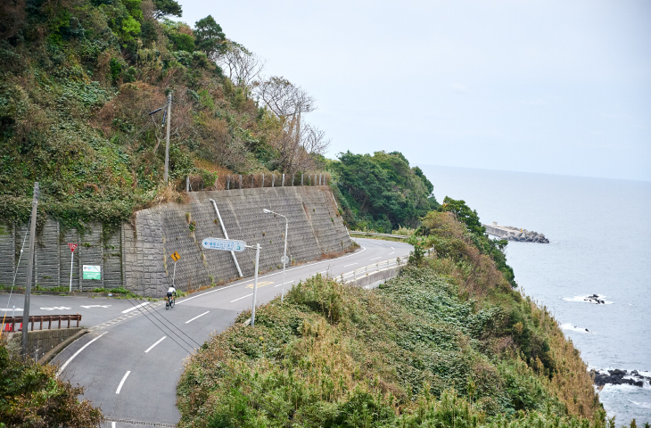 石脇海岸付近の絶景