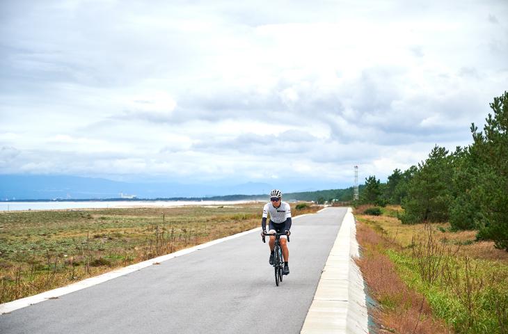 白浜青松の弓ヶ浜サイクリングコース
