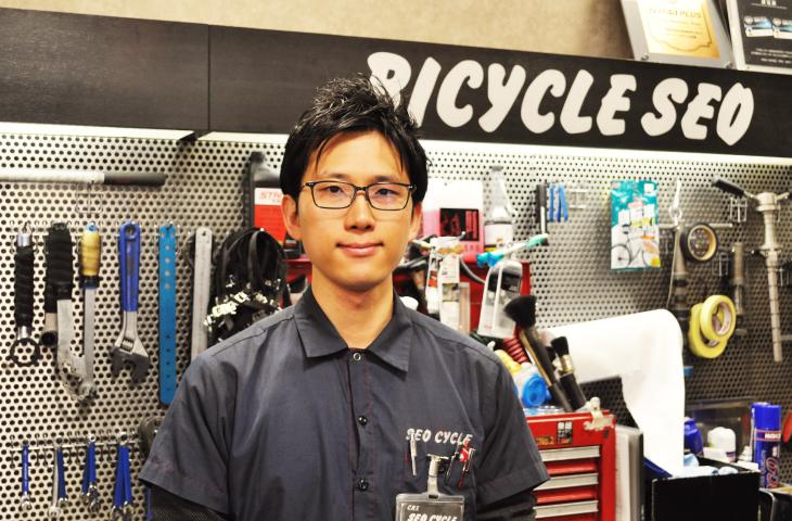 セオサイクルららぽーと店・野村 和さん
