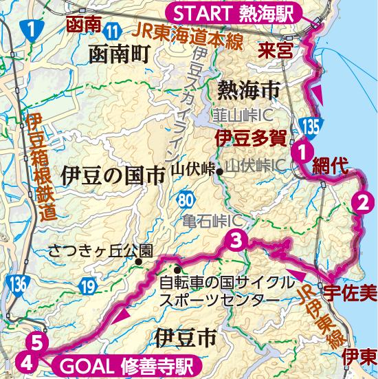 亀石峠越えコース
