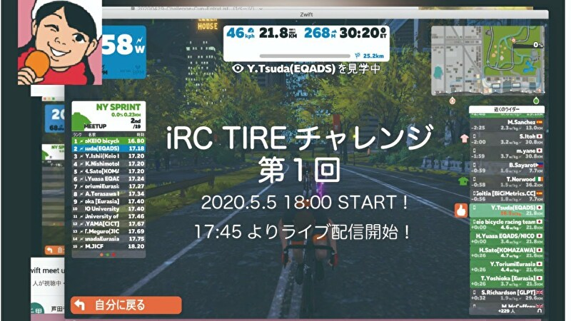iRCチャレンジ