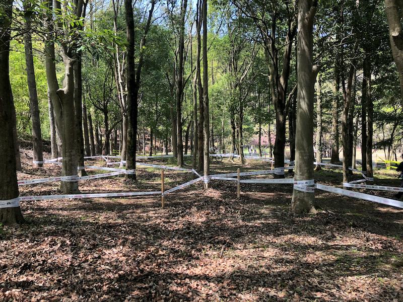 宇都宮市森林公園マウンテンバイクコース