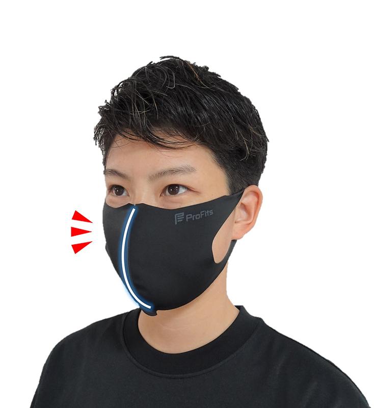 プロ・フィッツ ランニングマスク