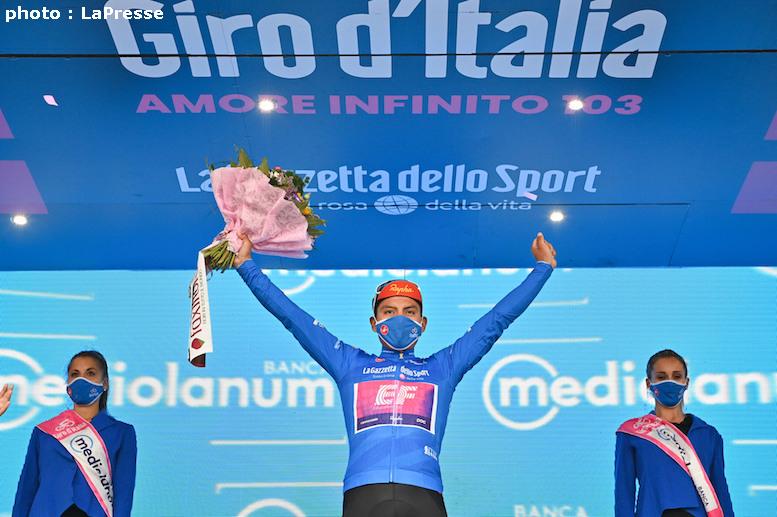 エトナ山頂上ゴールのジロ・デ・イタリア2020 第3ステージはカイセド ...