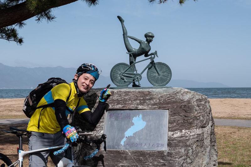 守山市サイクリング