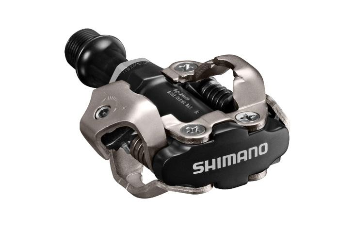 オフロード向けのSPD用ペダル。写真はシマノ・PD-M540
