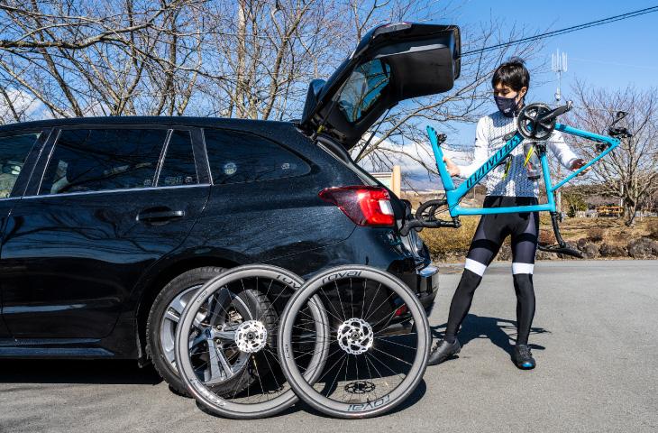 ロードバイクの車での輪行のコツ