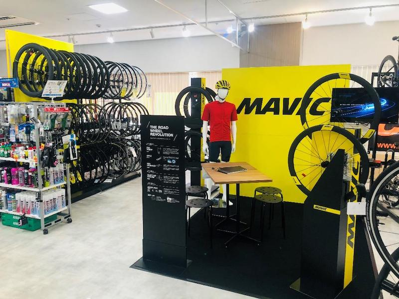 MAVICホイール試乗&セミナー in Y's Road 横浜店