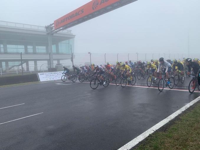 山本幸平2位 九州チャレンジサイクルロードレース