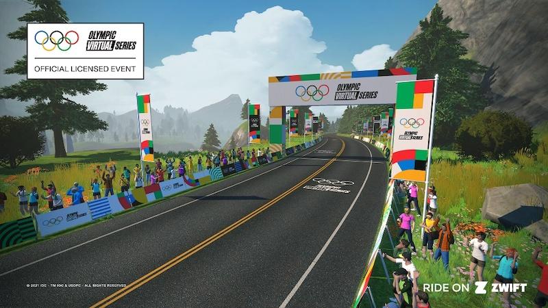 UCIとZwiftが「オリンピック・バーチャルシリーズ」に参加