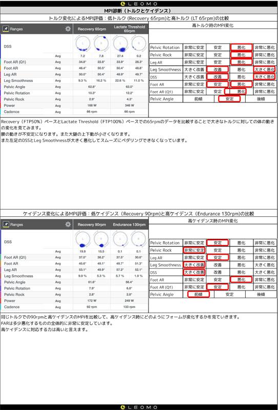 リオモCPCの解析結果サンプル