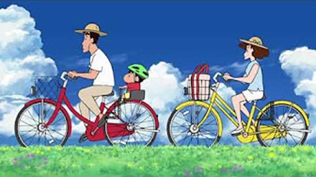 サイクルベースあさひがクレヨンしんちゃんとコラボ