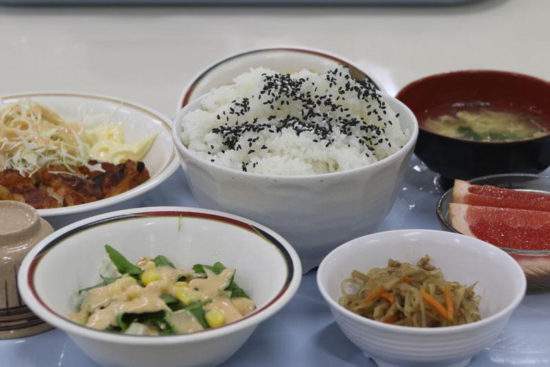 日本競輪選手養成所の食事