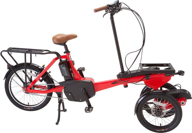 3輪電動アシスト自転車「T-TRIKE」