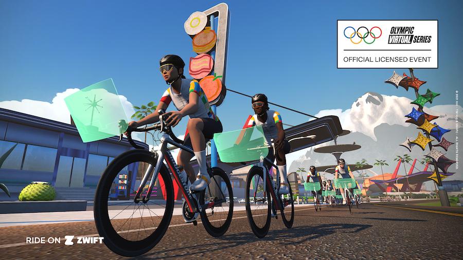 Zwift オリンピック・バーチャルシリーズ