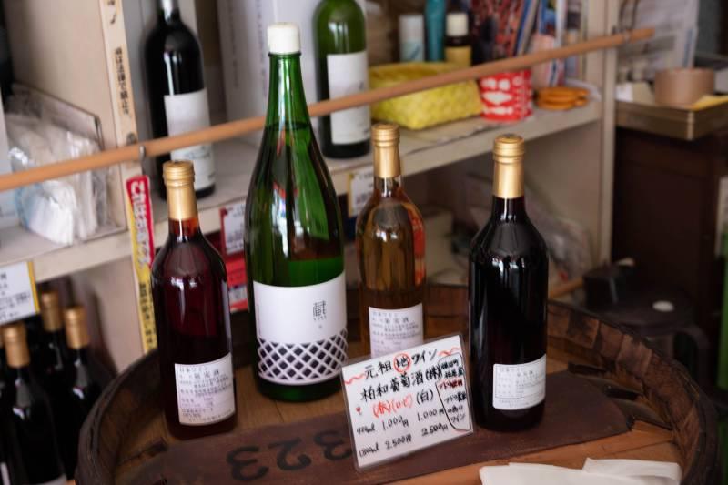 勝沼のワイン