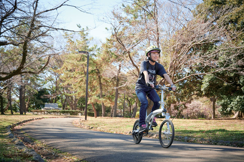 代々木公園サイクリング