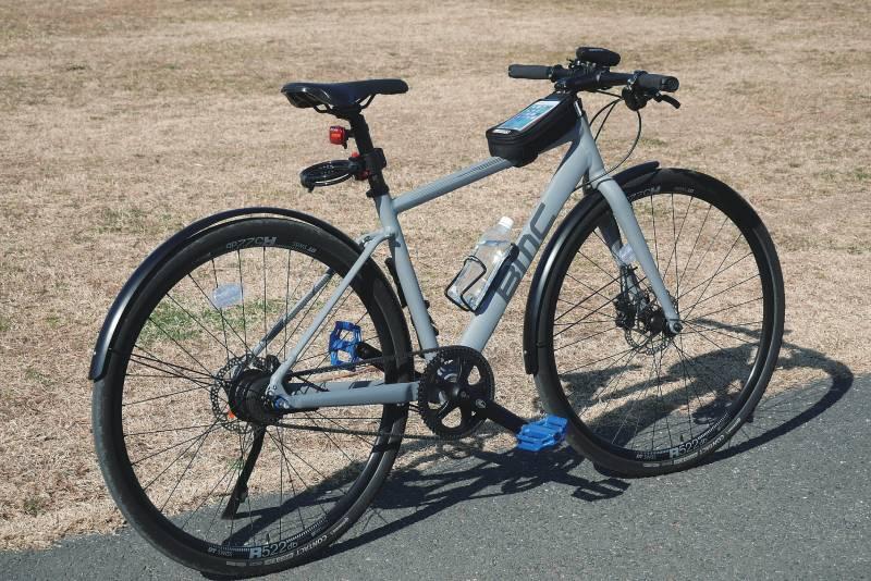 BMCのクロスバイクにフォースのアクセサリー