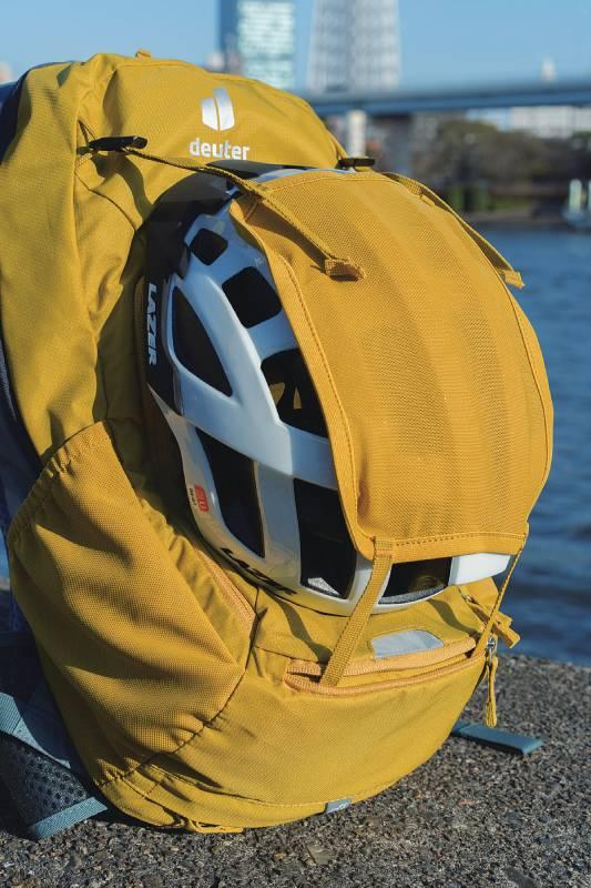 バイクワン20のヘルメットホルダー
