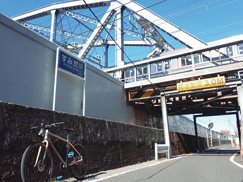 隅田川の鉄道橋