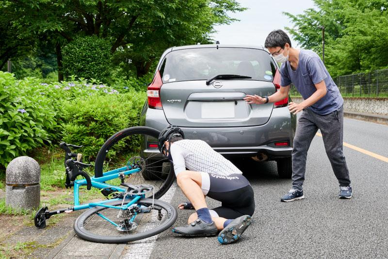 ロードバイクやクロスバイクで事故に遭う/起こしてしまったら