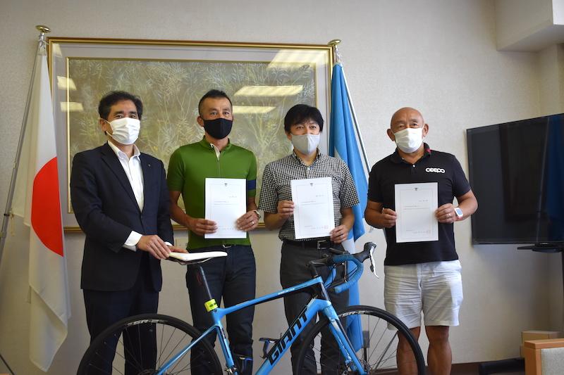 守山市の自転車特命大使