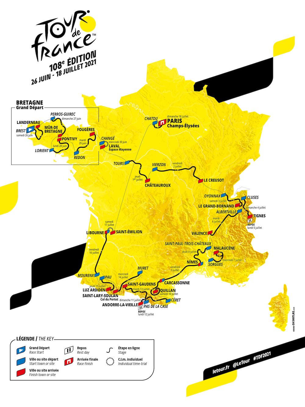 ツール・ド・フランス2021